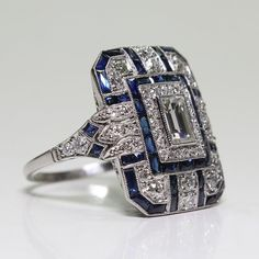 Metal: 925 Sterling SilverStone : Sapphire Condition:Brand NewRing Size: 6 7 8 9 10 Occasion: party,gift,anniversary,wedding,engagement,birthday Package: 1 x Ring