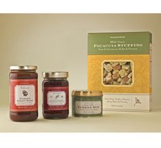 Packaging design for Williams-Sonoma Thanksgiving cooking line