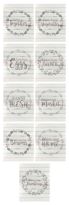 Diy Crafts Ideas Free farmhouse style printables – perfect for framing and putting up on your wall! This collection of four free printables is offered in both blue and white -Read More – Farmhouse Signs, Farmhouse Style, Farmhouse Decor, White Farmhouse, Farmhouse Furniture, Country Furniture, Farmhouse Font, Country Decor, Farmhouse Books