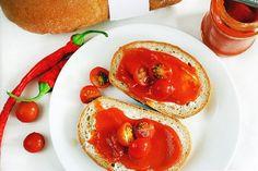 Trnavska natierka Bruschetta, Vegetables, Ethnic Recipes, Food, Essen, Vegetable Recipes, Meals, Yemek, Veggies