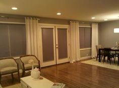 """Our customer said: """"I purchased 8 Light Filtering Budget Roller Shades in Slate and they are exactly what I wanted. The customer service is the best I've ever dealt with. The quality of the materials is excellent and the shades have a nice clean look and feel to them."""""""