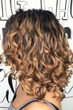 Perm Ideas And Facts You Should Know To Rock It Today - Medium curly hair styles - Curly Hair Styles, Curly Hair With Bangs, Curly Hair Cuts, Long Curly Hair, Hairstyles With Bangs, Medium Hair Styles, Natural Hair Styles, Hairstyle Ideas, Curly Bob