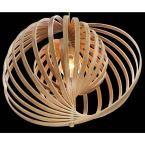 Eurofase Abruzzo Collection 1-Light Medium Wood Pendant 31873-017 at The Home Depot - Mobile