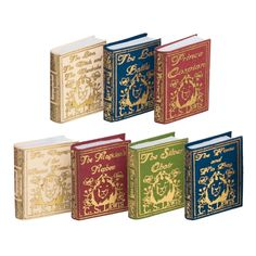 7-Pc. Chronicles of Narnia Book Set (C.S. Lewis) Inside pages blank. Not original artwork.
