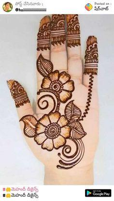 Circle Mehndi Designs, Very Simple Mehndi Designs, Kashee's Mehndi Designs, Traditional Mehndi Designs, Pakistani Mehndi Designs, Palm Mehndi Design, Back Hand Mehndi Designs, Stylish Mehndi Designs, Mehndi Designs For Beginners