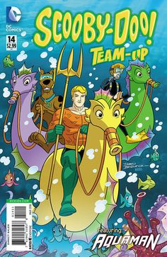 Shop for Scooby Doo Team Up from DC Comics - written by Sholly Fisch. Comic book hits store shelves on January 2016 Cartoon Crossovers, Cartoon Memes, Cartoon Characters, Hanna Barbera, Scooby Doo Mystery Incorporated, Batman Ninja, Flash Wallpaper, Free Comic Books, Morning Cartoon