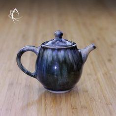 Lava Melt Blue Teapot Featured View