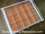 Acrylic soap mold