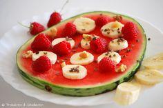 Probieren und Studieren : Wassermelonen-Pizza für die letzten schönen Sommertage