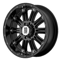 XD Series by KMC Wheels Hoss Gloss Black Wheel With Clearcoat offset >>> You can get more details by clicking on the image. (This is an affiliate link) Rims And Tires, Wheels And Tires, Car Wheels, 20 Inch Wheels, Off Road Wheels, Vw Routan, Black Jeep Wrangler, Truck Rims, Jeep Rims