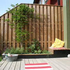Outdoor Spaces, Outdoor Living, Outdoor Decor, Small Gardens, Plank, Fence, Tiny House, Villa, New Homes