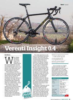 Wiggle | Verenti Insight 0.4 Sora 2015 | Road Bikes