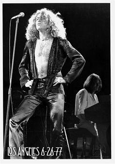 Robert Plant, 1977
