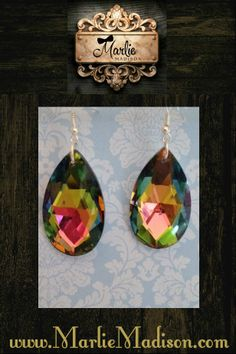 Magic Crystal Earrings http://www.marliemadison.com/accessories/jewelry/magic-crystal-earrings