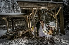 Winter weddings, so different and magical...