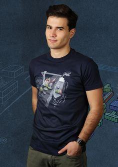 Game Port T-Shirt von Kater Likoli, Mannheim, Deutschland   Design by Robert Richter $19.95