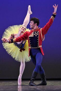 "Ashley Bouder (NYCB) and Joseph Gatti (Boston Ballet), ""Stars and Stripes"" at Dance Open Ballet Festival, April 2013, Saint Petersburg, Russia - Photographer Stas Levshin"