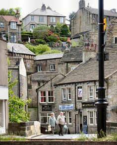 Holmfirth, West Yorkshire, England, where LAST OF THE SUMMER WINE was filmed (BBC)