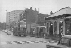 Upper Clapton Road, looking west c.1953. From cloveclub.com.