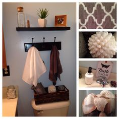 My small master bathroom update.