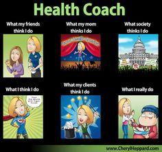 Health Coach meme- Created by CherylHeppard.com