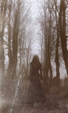 The Woman in Black... A ghost story., via Etsy.