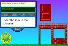 Interactive Education: types of sentences