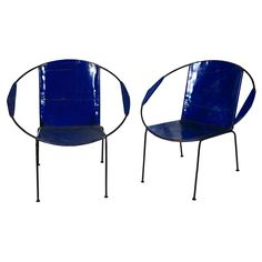 Oil Drum Outdoor Chairs