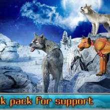 Angry Wolf Simulator 3D Mod APK 1.1 [Mod Money] - Android Game