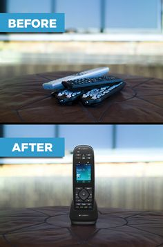 You could win this tech upgrade and control all of your new entertainment devices with one remote you'll be proud to show off! Re-pin this image and enter your information using the link provided below, and you could win the Logitech Harmony Touch. To enter click here and complete entry form: http://rul.es/z4p1zE .