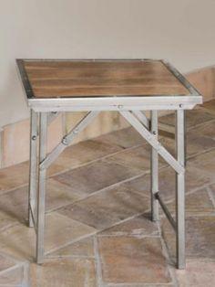 Pendleton Woolen Mills: CAMPAIGN FOLDING SIDE TABLE