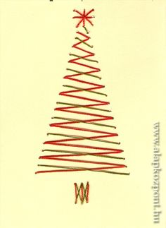 Diy Christmas Cards, Christmas Wishes, Christmas Crafts, Knitting Club, Embroidery Cards, String Art Patterns, Scroll Saw Patterns, Christmas Embroidery, Felt Art