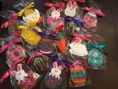 Hippity Hoppity Easter's on its way! - See more of our cookies at http://www.ctcookietreats.com