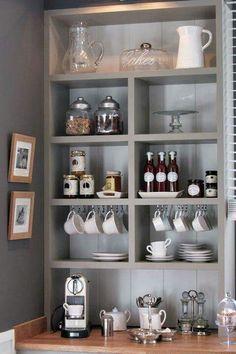 Organizar tazas