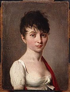 Madame Arnault de Gorse, par Louis Léopold Boilly (1761-1845).