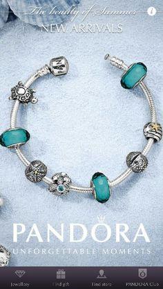Women's PANDORA Charm Bangle Bracelet