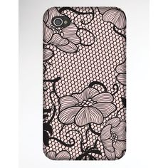Glam Interlace Iphone Case ($15) ❤ liked on Polyvore