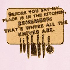 In The Kitchen With the Knives Funny Novelty T Shirt Z13190 - Rogue Attire