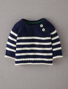Mini Boden Knit Sweater (Baby) Best Picture For Crochet Pattern for kids ravelry For Your Taste You are looking for something, and it is going. Baby Boy Knitting Patterns, Baby Sweater Knitting Pattern, Knit Baby Sweaters, Boys Sweaters, Knitting For Kids, Knitting Sweaters, Baby Girl Crochet, Crochet For Boys, Baby Outfits