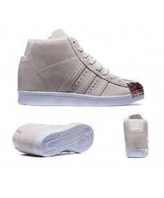 3933b914ff287 adidas Originals Womens Superstar Up Metal Toe Trainer