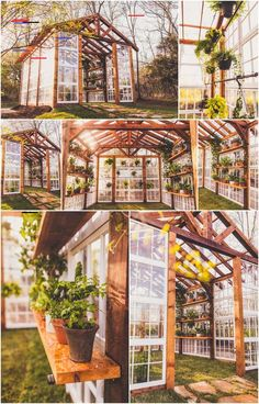 Take a look at some of the best Budget-Friendly DIY Greenhouse Ideas for both the small and large space! greenhouse 35 Top DIY Small Greenhouse Ideas For This Spring Year Diy Small Greenhouse, Diy Greenhouse Plans, Backyard Greenhouse, Greenhouse Wedding, Old Window Greenhouse, Homemade Greenhouse, Cheap Greenhouse, Greenhouse Attached To House, Greenhouse Shelves