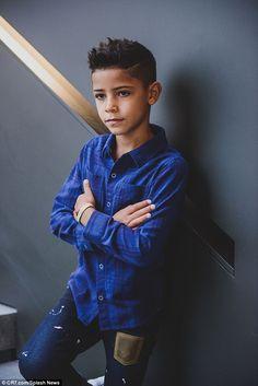 Cristiano Jr, Cristiano Ronaldo Junior, Cristino Ronaldo, Cr7 Jr, Cr7 Junior, Soccer Hair, Young Boys Fashion, Kids Clothing Brands, Clothing Websites