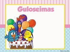 Galinha Pintadinha Rosa e Azul – Kit festa infantil grátis para imprimir – Inspire sua Festa ®