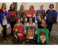 Anyone can learn how to paint their own pet. With our fool-proof method. Join a class at Winnipeg Art & Wine Paint Your Pet, Free Fun, Paint Party, Learn To Paint, Join, Pets, Painting, Learn How To Paint, Painting Art