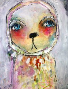 #mixedmedia #painting project in #wildandfreepainting online class with Juliette Crane