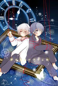 """I Sleep Well"" fanart Mafumafu x Soraru Chica Anime Manga, Anime Chibi, Cute Anime Guys, Anime Boys, Anime Style, Vocaloid, Neko Kawaii, Chibi Boy, Natsume Yuujinchou"