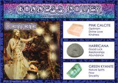 Goddess Power: Damara!