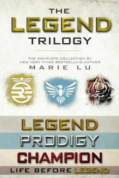 #LegendSeries - Marie Lu FAVOURITE SERIES!!! BEST BOOK EVER!!!!! (along with a few others ;)