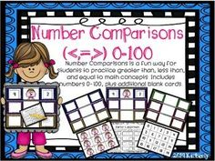 $3 Number Comparisons (Greater Than, Less Than, or Equal Work
