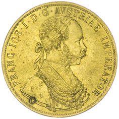"""4 Dukat 1903 mit KM """"Stierkopf"""", Gold"""
